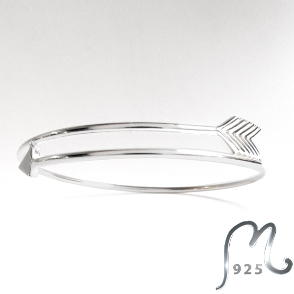 Silver bracelet. Arrow of Cupid. NEW!