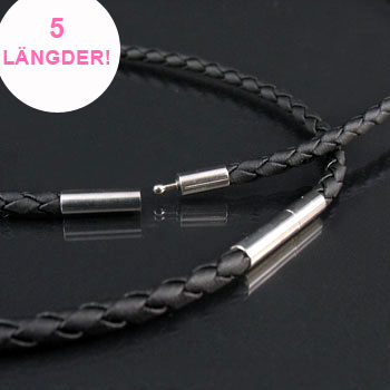 Vary your piece of jewellery with an extra cord!