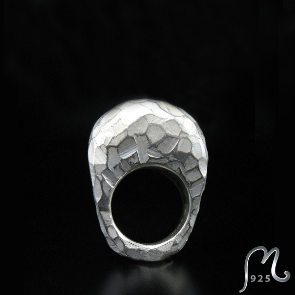 Masterpiece silver ring. SOLD!